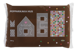Paquete de estructura de casa de gengibre de IKEA