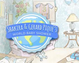 Shakira Gerad Pique baby shower