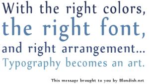 El arte de la tipografia