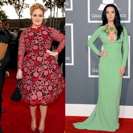 Adele y Katy