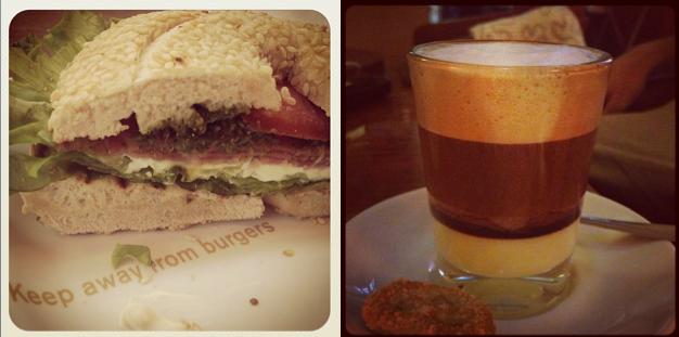 Bagel y cafe