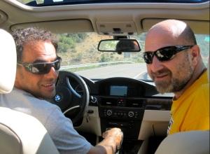 Carlos Pauner al volante