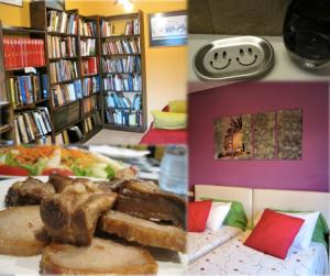 Biblioteca, sonrisa y buen gusto en Allucant :)