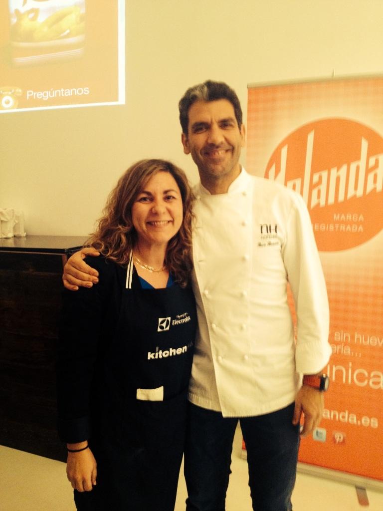 Paco Roncero con Yolanda